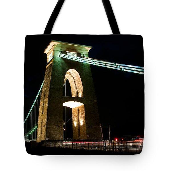 Clifton Suspension Bridge, Bristol. Tote Bag