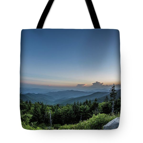 Clingmans Dome Sunset I Tote Bag
