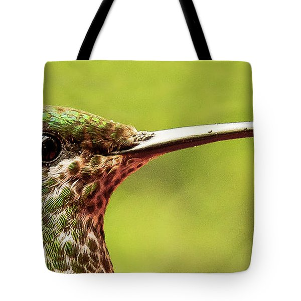 Close-up Of A Rufous-tailed Hummingbird Tote Bag