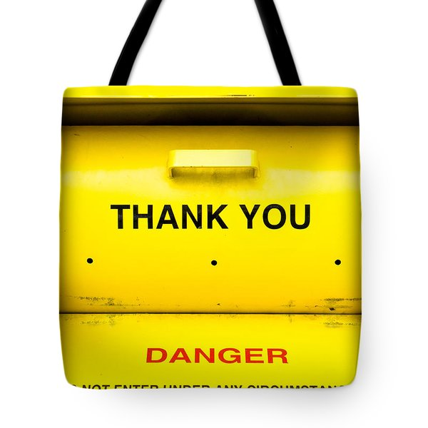 Clothing Bank Tote Bag