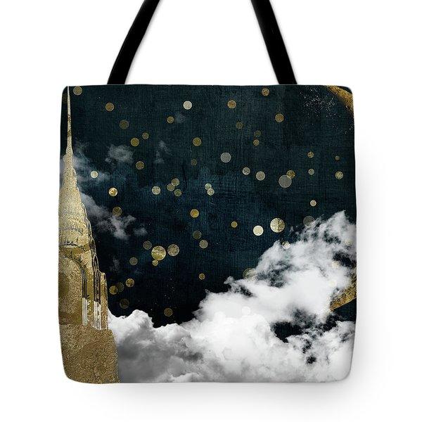 Cloud Cities New York Tote Bag