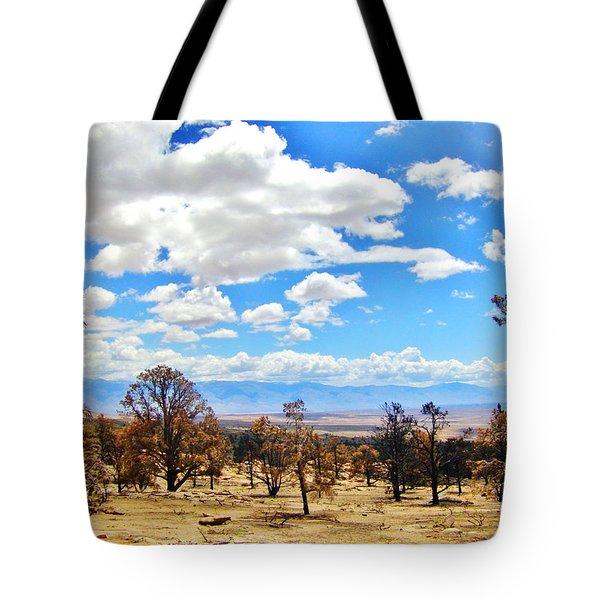 Cloud Covering Tote Bag