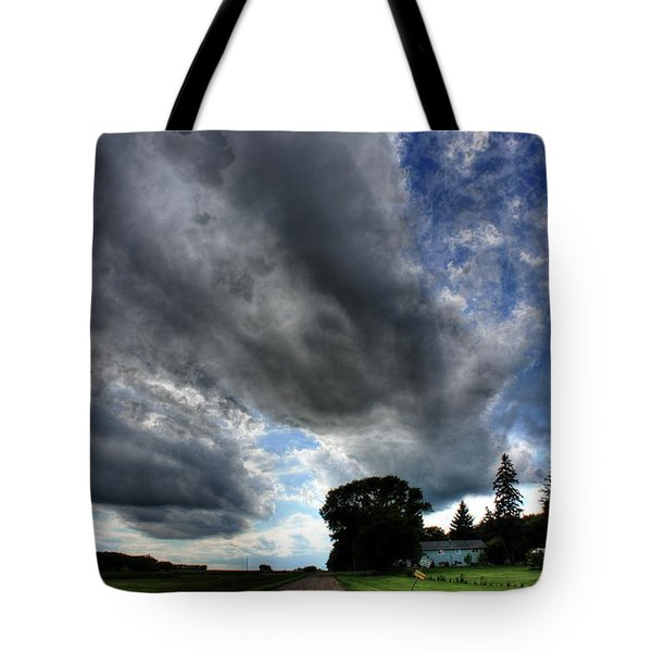 Cloud Lane Tote Bag