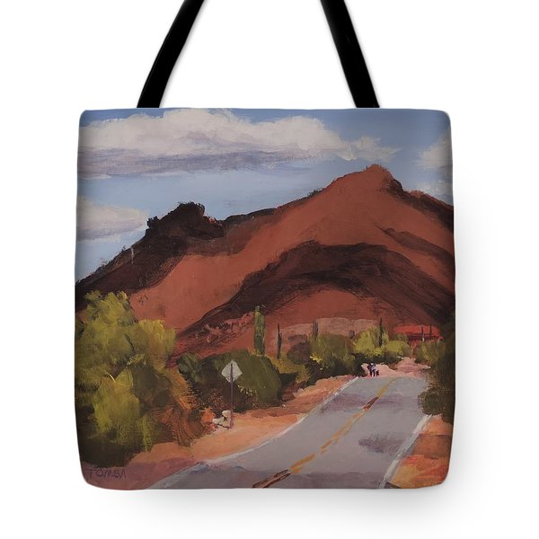 Cloud Shadows On Black Mountain Tote Bag