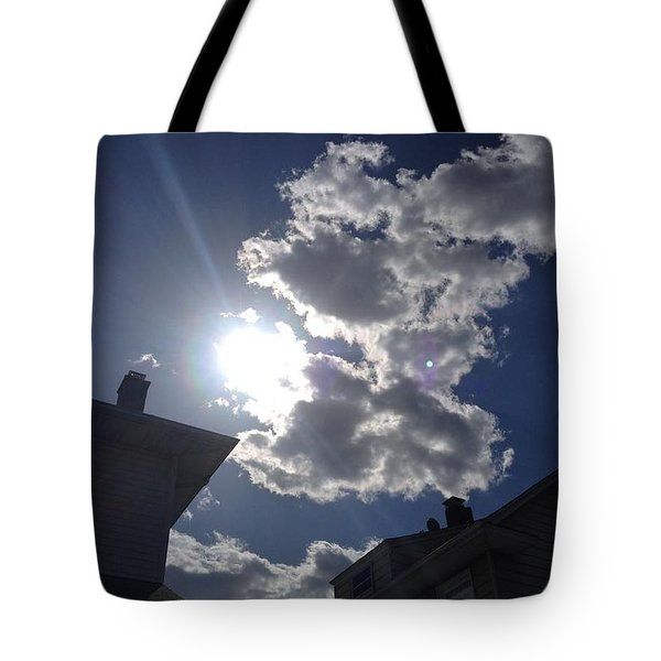 Clouds Tote Bag