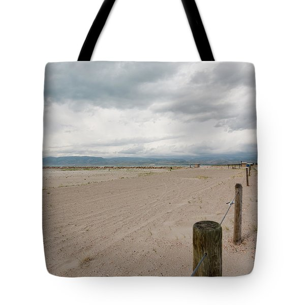 Clouds Roll In Tote Bag