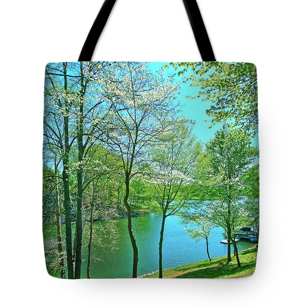 Cluster Of Dowood Trees Tote Bag