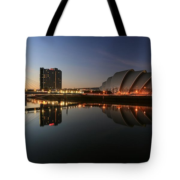 Clydeside Reflections  Tote Bag