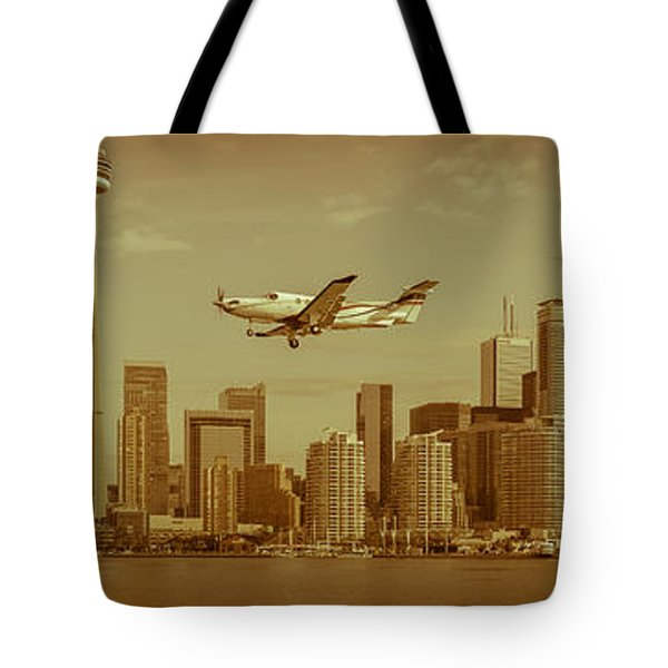 Cn Tower Drive-by Tote Bag