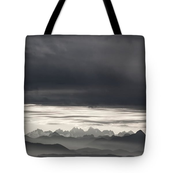 Coastal British Columbia Tote Bag by Carol Leigh