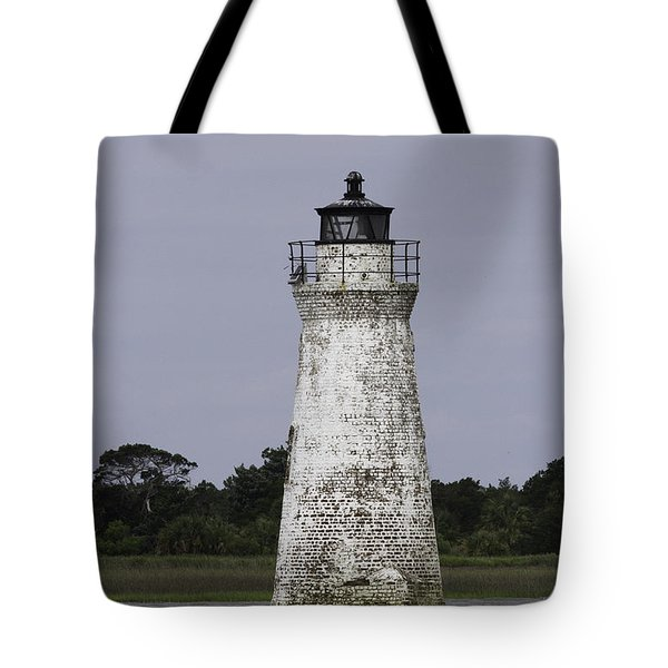 Cockspur Lighthouse Tote Bag