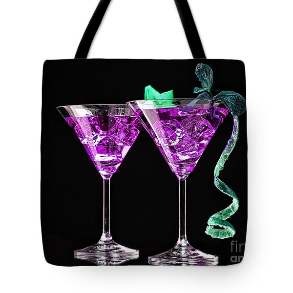Cocktails Collection Tote Bag by Marvin Blaine