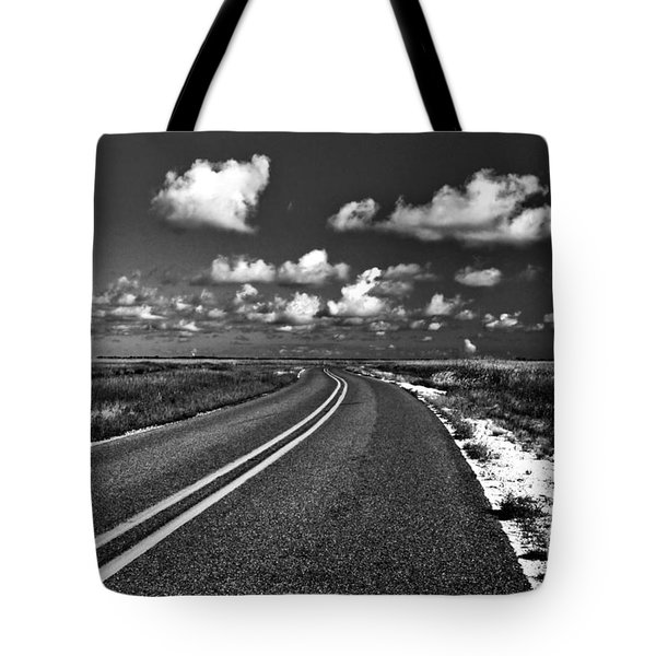 Cocodrie Highway Tote Bag by Scott Pellegrin