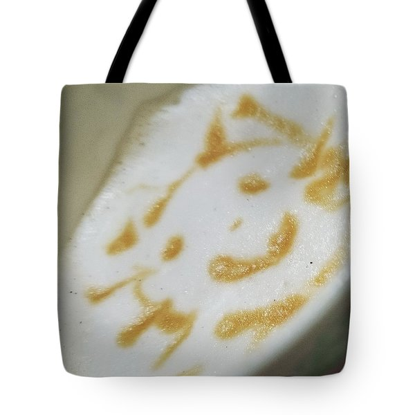 Coffeeart Kitten  Tote Bag