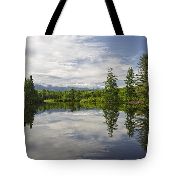 Coffin Pond - Sugar Hill New Hampshire Usa Tote Bag