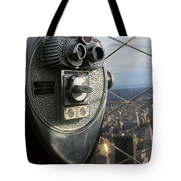 Coin Operated Viewer Tote Bag