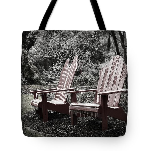 Cold Seats Tote Bag
