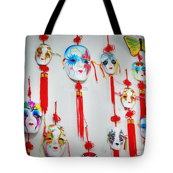 Tote Bag featuring the photograph Colombina by Beto Machado
