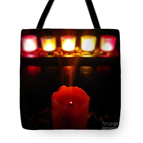 Color In Lights Tote Bag
