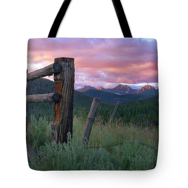 Colorado Glory Tote Bag by Ronda Kimbrow