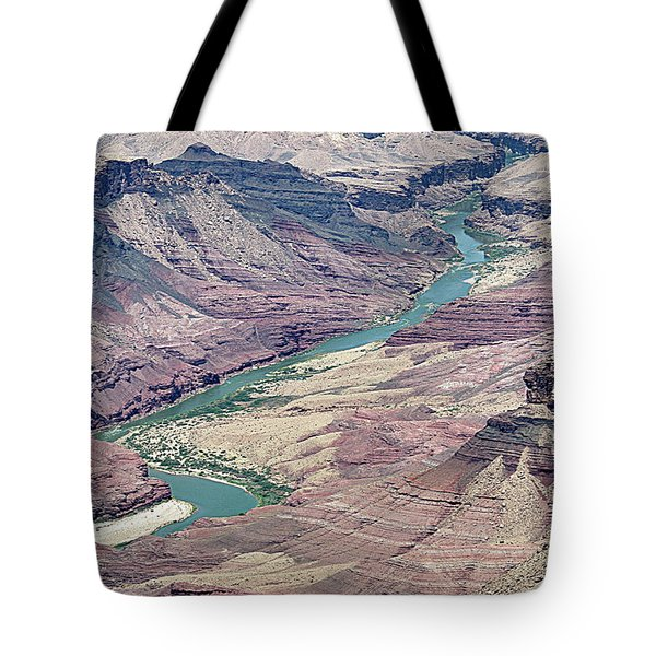 Colorado River In The Grand Canyon Tote Bag