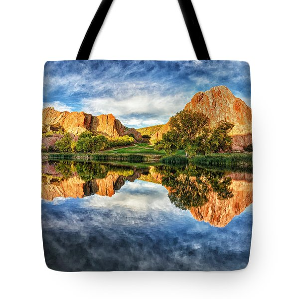 Tote Bag featuring the photograph Colorful Colorado by OLena Art Brand