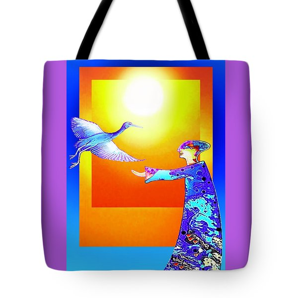 Colorful Friends Tote Bag