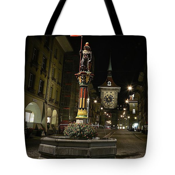 Colors Of Bern Tote Bag