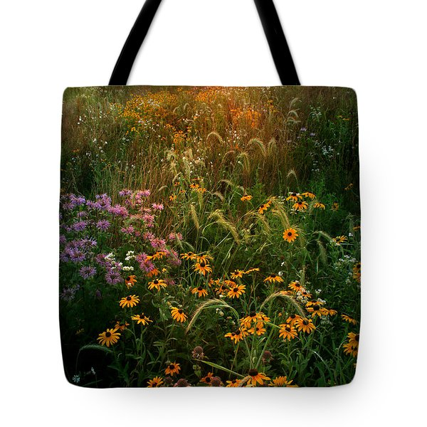 Colors Of Summer Tote Bag by Rob Blair