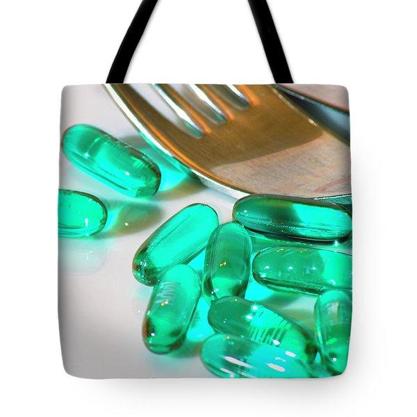 Colourful Medication Tote Bag