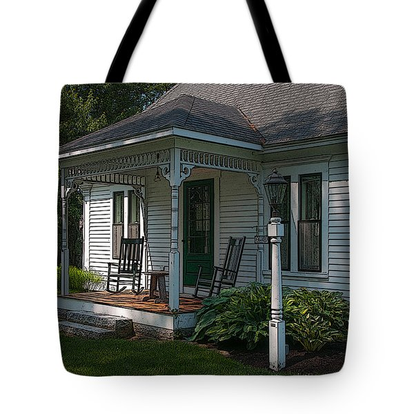 Come Sit On My Porch Tote Bag