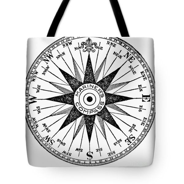 Compass Rose Tote Bag by Granger