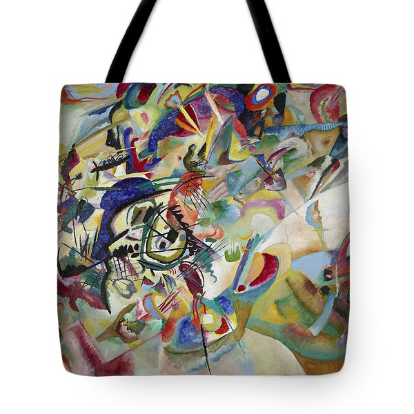 Composition Vii Tote Bag by Wassily Kandinsky