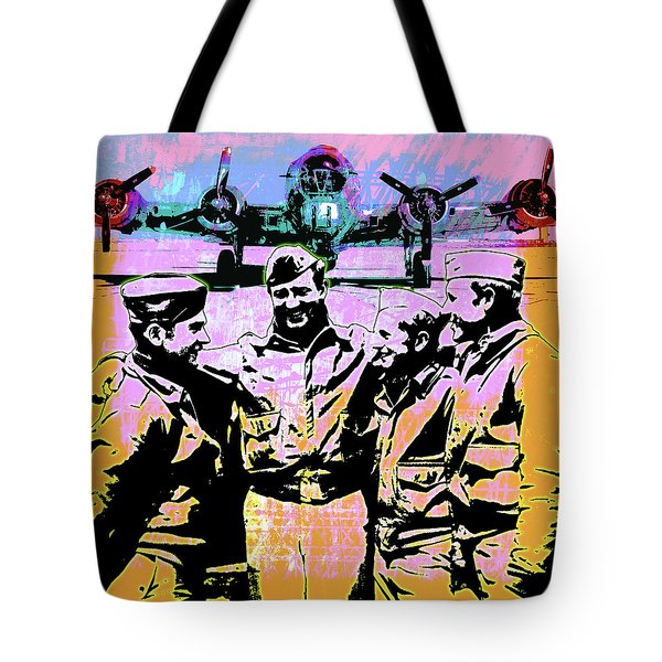 Comradeship Tote Bag by Gary Grayson