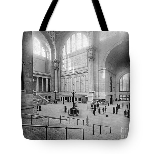 Concourse Pennsylvania Station New York Tote Bag
