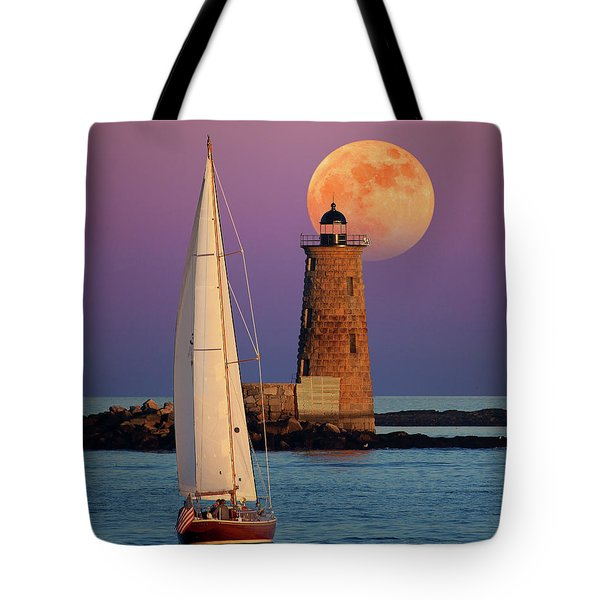 Tote Bag featuring the photograph Convergence by Larry Landolfi