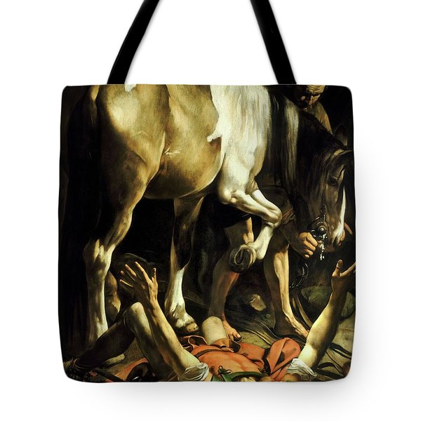 Conversion On The Way To Damascus Tote Bag