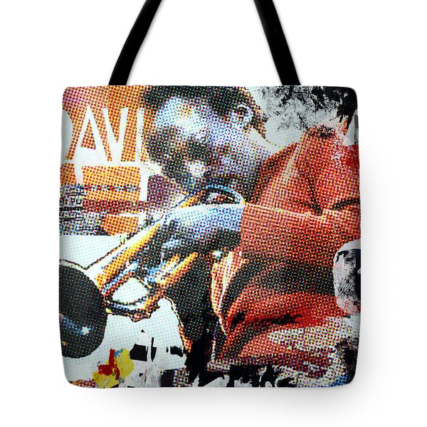 Cool Jazz Tote Bag