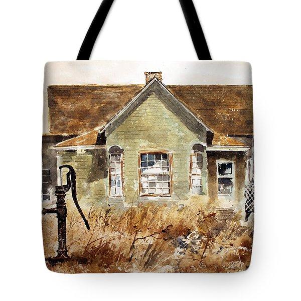 Water Pump Tote Bag by Monte Toon