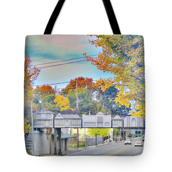 Cooper Young Trestle Tote Bag