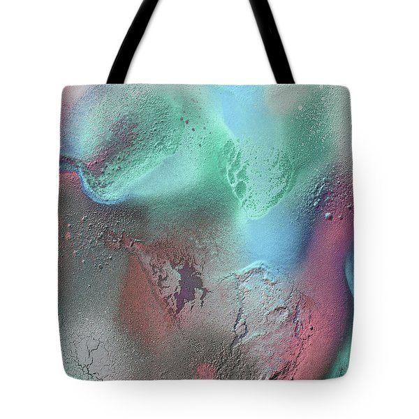 Coral, Turquoise, Teal Tote Bag