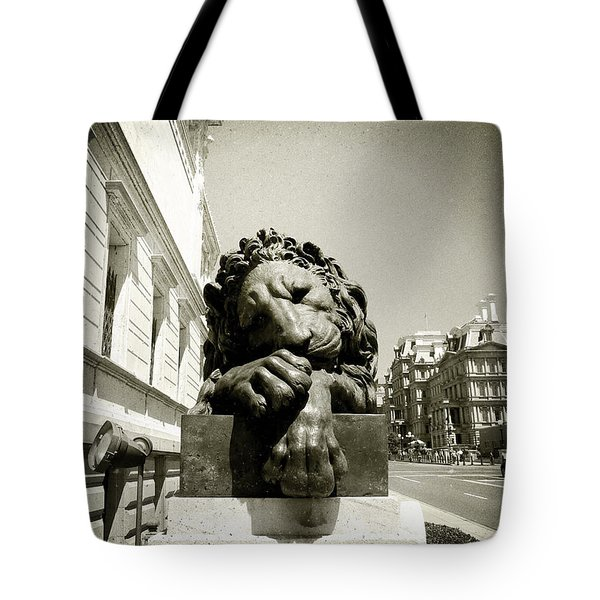 Corcoran Lion Tote Bag