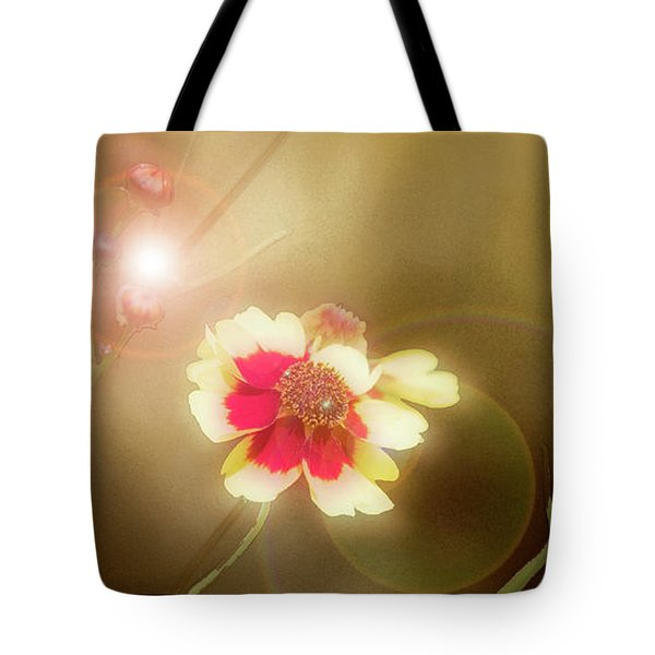 Coreopsis Flowers And Buds Tote Bag