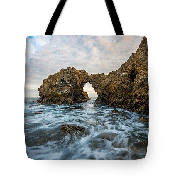 Corona Del Mar Tote Bag by Dustin  LeFevre