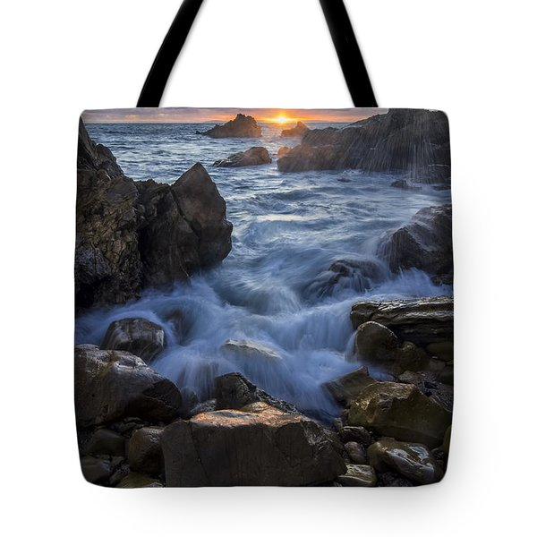 Tote Bag featuring the photograph Corona Del Mar by Sean Foster