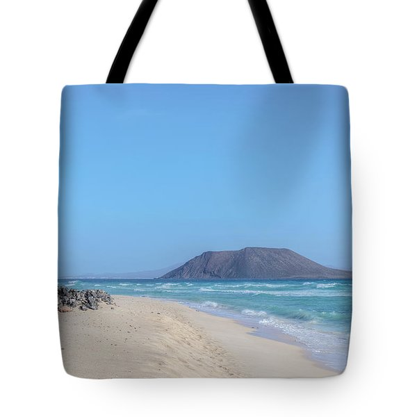 Corralejo - Fuerteventura Tote Bag by Joana Kruse