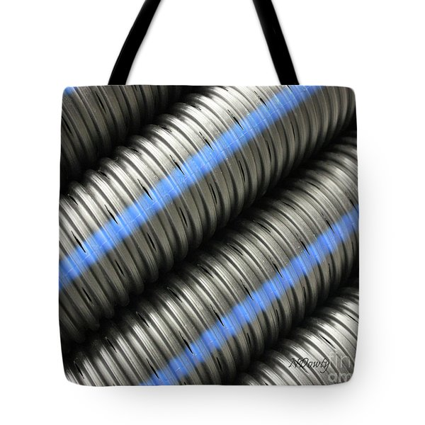 Corrugated Drain Pipe Tote Bag