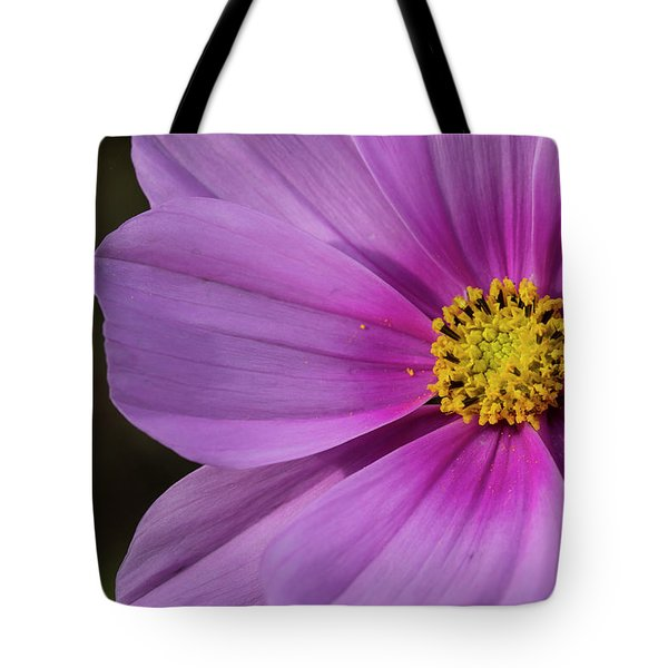 Tote Bag featuring the photograph Cosmos by Elvira Butler