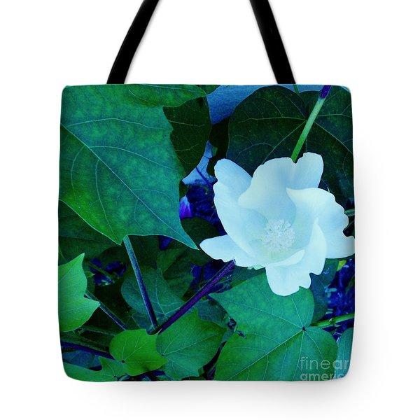 Cotton Blossom Tote Bag
