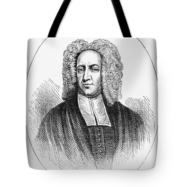 Cotton Mather (1663-1728) Tote Bag by Granger